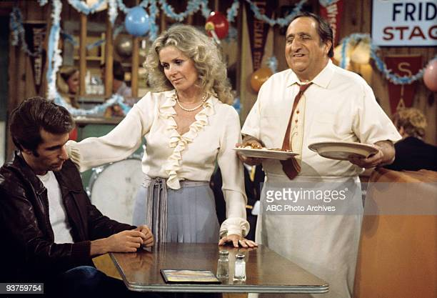DAYS Fonzie's Old Lady 1/4/77 Henry Winkler Diana Hyland Al Molinaro
