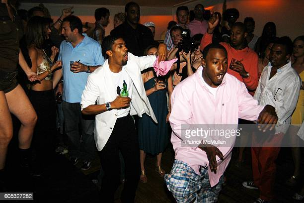 Fonzworth Bentley and 2 Step attend DJ Cassidy and Fonzworth Bentley Host BUNNY CHOW Sunday at CAIN Southampton Club on May 28 2006 in Southampton NY