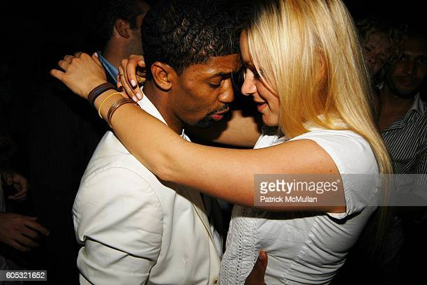 Fonzworth Bentley and attend DJ Cassidy and Fonzworth Bentley Host BUNNY CHOW Sunday at CAIN Southampton Club on May 28 2006 in Southampton NY