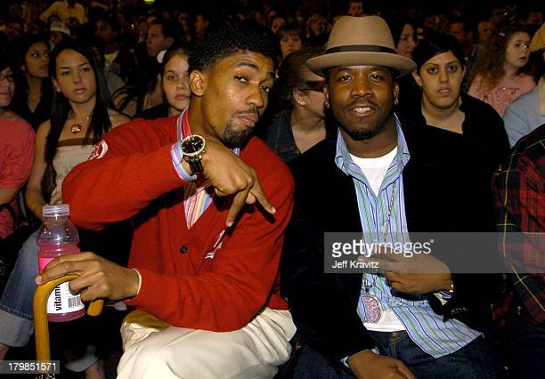 Fonzworth Bentley and Big Boi of Outkast during Nickelodeon's 17th Annual Kids' Choice Awards Backstage at Pauley Pavillion in Westwood California...