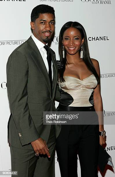 Fonzworth Bentley and Faune A Chambers attend the New York Premiere of Coco Before Chanel presented by Chanel at the Paris Theatre on September 15...