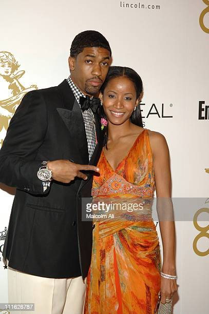 Fonzworth Bentley and Faune Chambers during GOOD Music's Heavenly GRAMMY After Party February 8 2006 at The Lot Studios in West Hollywood California...