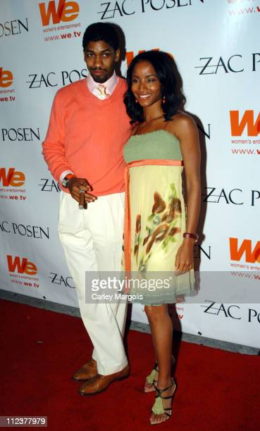 Fonzworth Bentley and Faune Chambers during WE Women's Entertainment and Amy Sacco Host the AfterAfterParty for Zac Posen's Spring/Summer 2005 Show...
