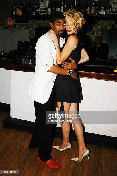Fonzworth Bentley and Katie Nuala attend DJ Cassidy and Fonzworth Bentley Host BUNNY CHOW Sunday at CAIN Southampton Club on May 28 2006 in...