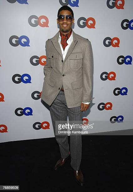 Fonzworth Bentley attends the GQ Magazine 50th Anniversary Party at Cedar Lake on September 18 2007 in New York City