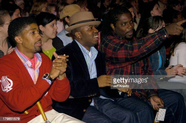 Fonzworth Bentley Big Boi and Andre 3000 of OutKast
