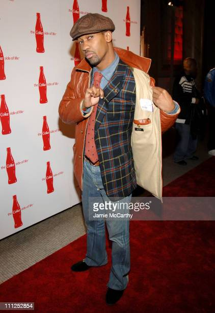 Fonzworth Bentley during Coca Cola's Coke Side Of Life Launch Party at Capitale in New York City at Capitale in New York City New York United States
