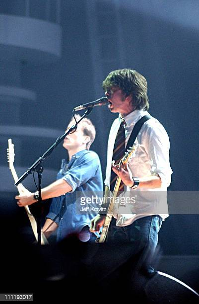 Foo Fighters during MTV European Music Awards 2002 MTV European Music Awards 2002 at Palau Sant Jordi in Barcelona, Spain.