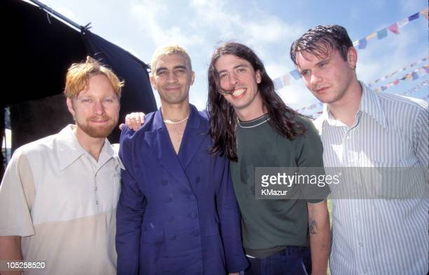 Foo Fighters during Tibetan Freedom Concert June 1996 at Polo Fields Golden Gate Park in San Francisco California United States