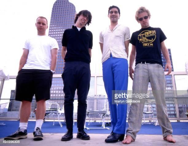 Foo Fighters group portrait, Denver, United States, 1998.