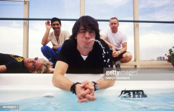 Foo Fighters group portrait, Denver, United States, 1998.