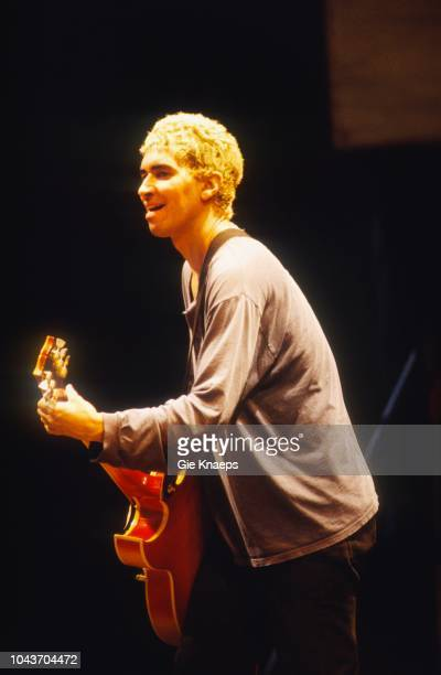 Foo Fighters, Pat Smear, Pukkelpop Festival, Hasselt, Belgium, 25th August 1995.
