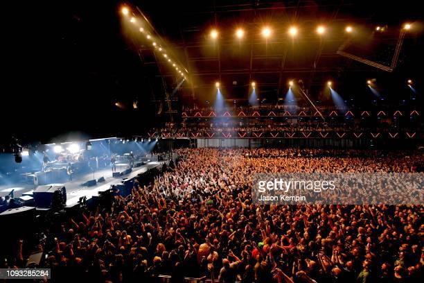Foo Fighters perform onstage at DIRECTV Super Saturday Night 2019 at Atlantic Station on February 2 2019 in Atlanta Georgia