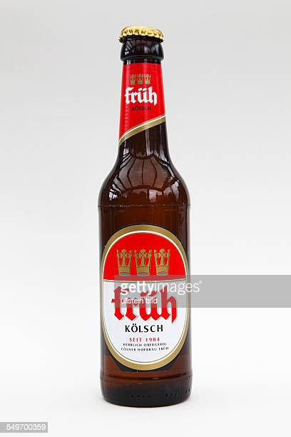 food alcoholic beverage bottle with beer beer bottle beer from Cologne Koelsch by brewery Coelner Hofbraeu Frueh Cologne