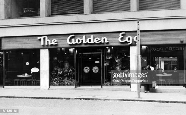 circa 1968 London The Golden Egg in Fleet Street London