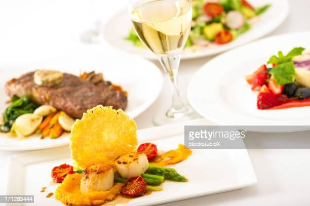 お料理&ワイン