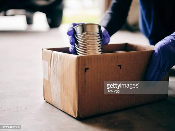 food bank donation center - matbank bildbanksfoton och bilder