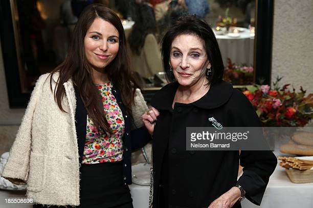 Food Bank's Caitlin Gassert and Carol Schneider attend Il Cantinori's 30th Anniversary Celebration to benefit Food Bank For New York City at Il...