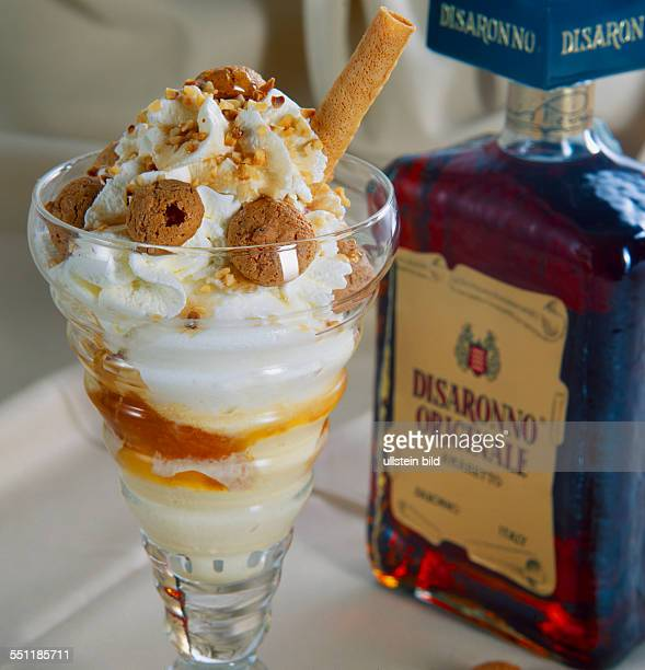 Food Beverage ice cream Amaretto