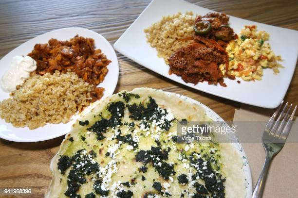 Food blogger Eden Hagos of the Black Foodie website talks about 3 Ethiopian brunch dishes to try at 3 restaurants Exterior pictures of Enat Buna...