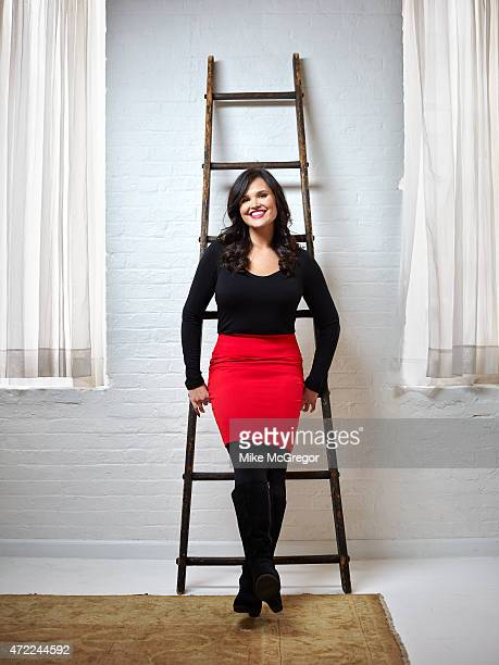 Food blogger/author Andie Mitchell is photographed for Grazia UK on January 14 2015 in Brooklyn New York PUBLISHED IMAGE