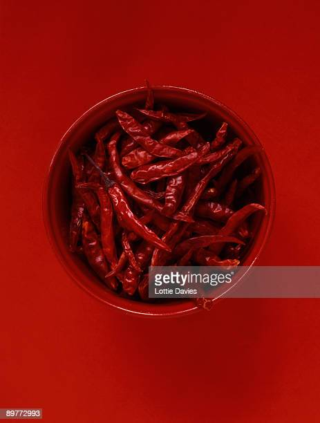 Food - bowl of chilies