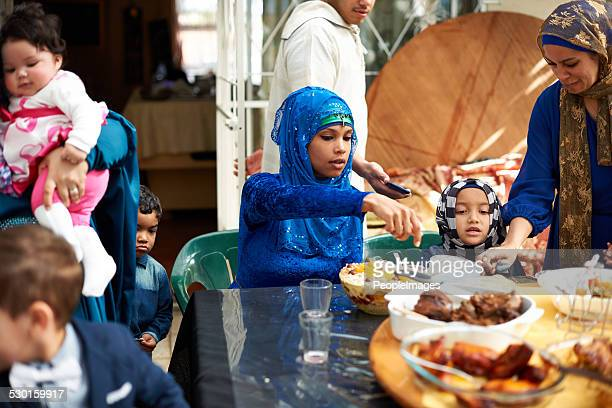 Food brings everyone together