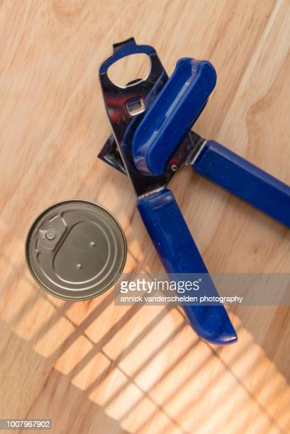 Food can and can opener.