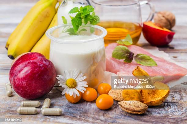 food containing melatonin - melatonin stock photos and pictures