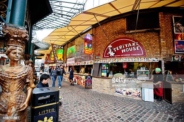 Food Court in Camden Town, London