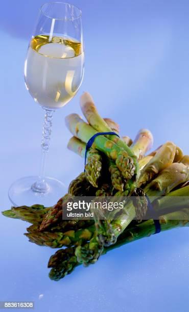 Food Court Vegetables green asparagus white wine