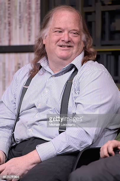 Food critic Jonathan Gold speaks at Cinema Cafe during the 2015 Sundance Film Festival on January 29 2015 in Park City Utah