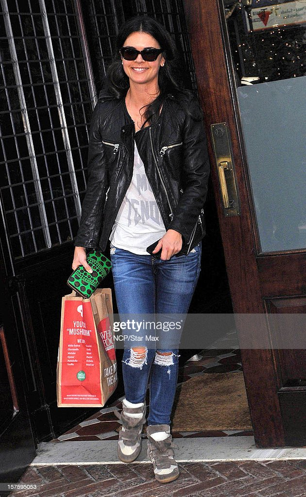 Food Critic Katie Lee Joel sighting on December 4, 2012 in New York City.