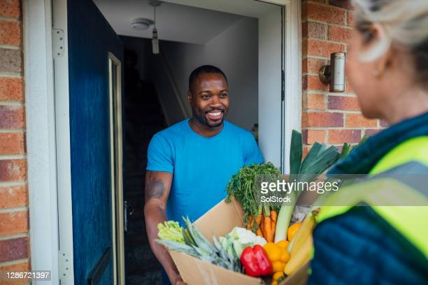 food delivery - organic stock pictures, royalty-free photos & images