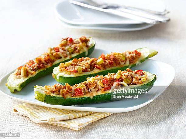food dinner - zucchini stock pictures, royalty-free photos & images