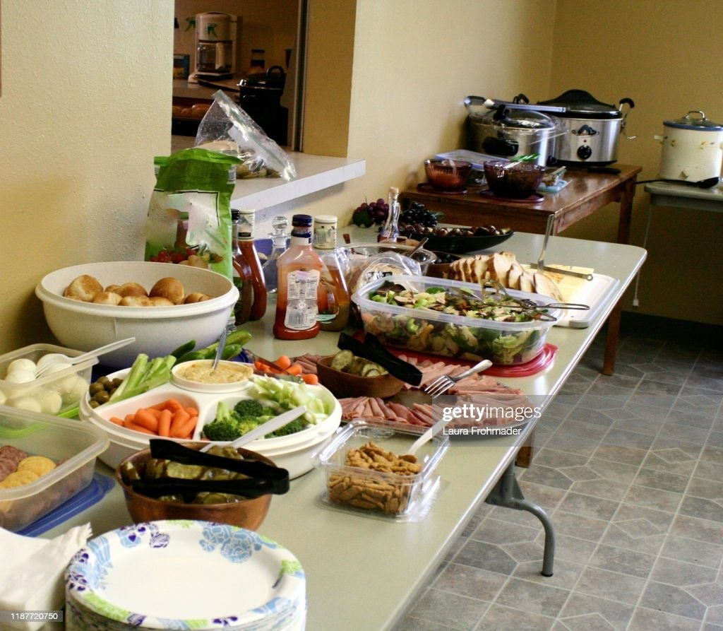 Food display : Stock Photo