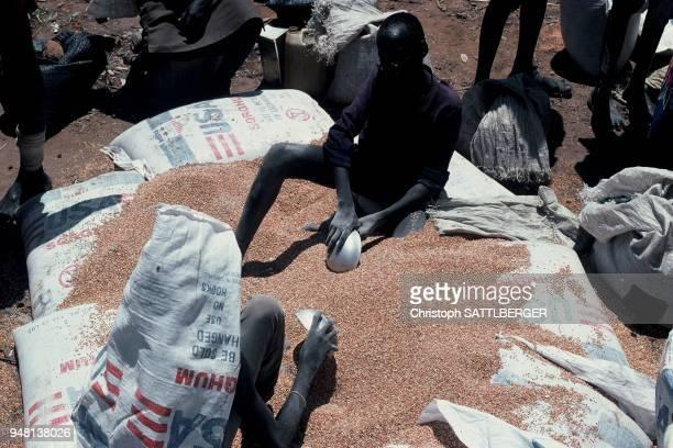 Food distributuin in Aswa