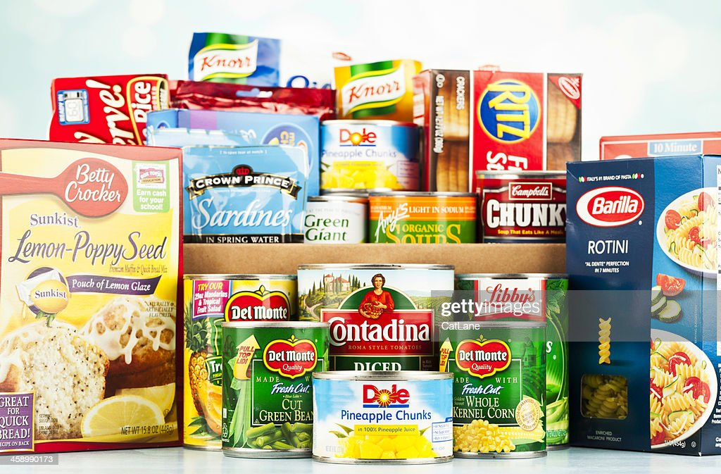 Food Drive Collection : Stock Photo
