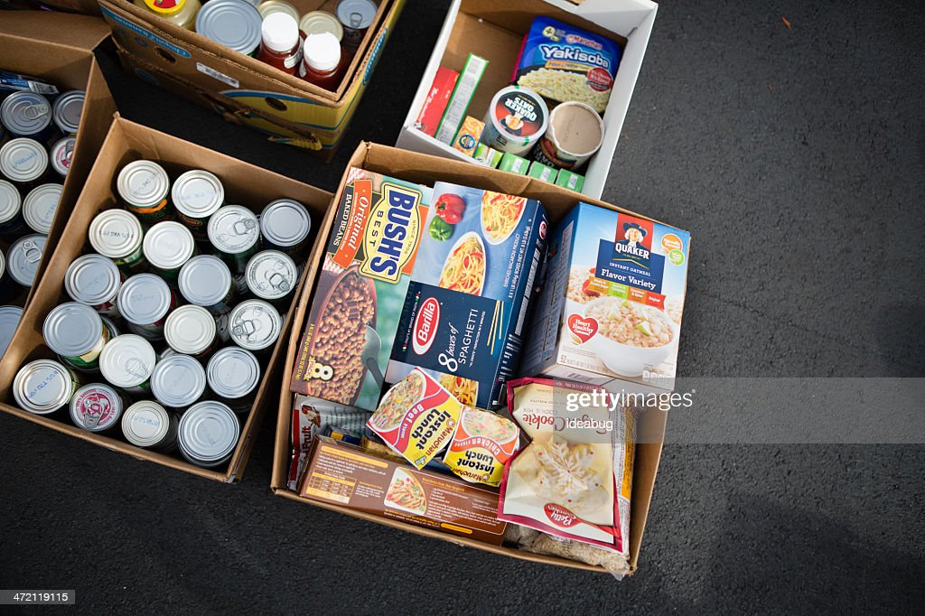 Food Drive : Stock Photo