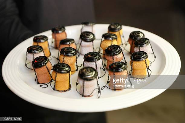 Food during the Dom Perignon 'The Legacy' on October 17 2018 in Munich Germany