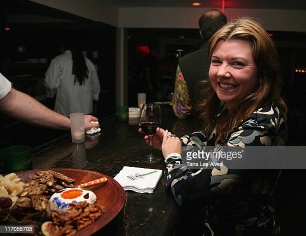 Food Expert Catherine Bodziner attends the Teeth Reception at the Hamptons International Film Festival October 19, 2007 in East Hampton, New York