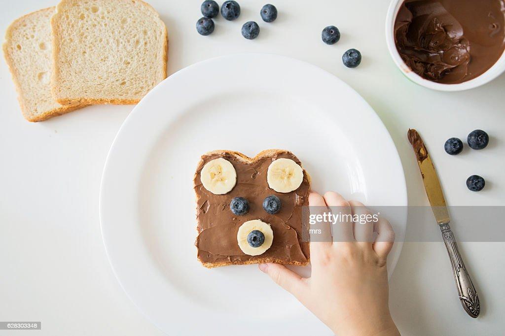 Food face : Stock Photo