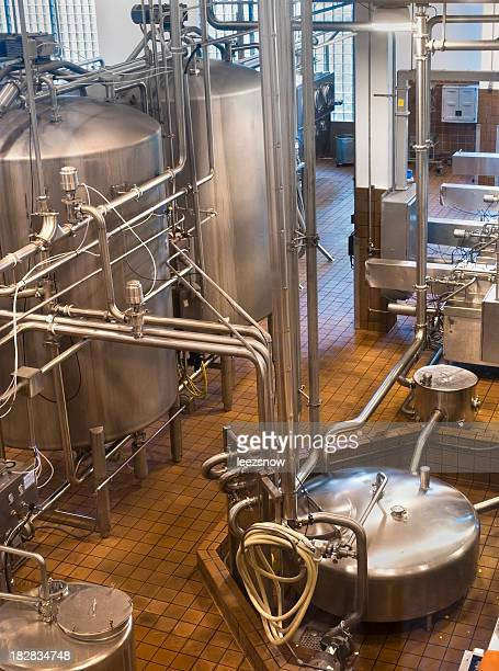 Food factory machine running automatically