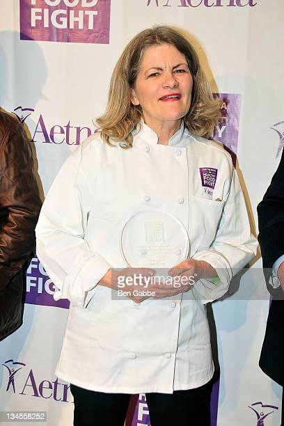 Food Fight winner Merry Graham attends the Aetna Healthy Food Fight regional semifinal cookoff at ABC Studios on December 2 2011 in New York City