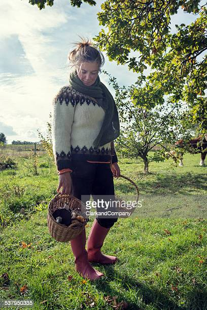 Food Forager at Work In Denmark