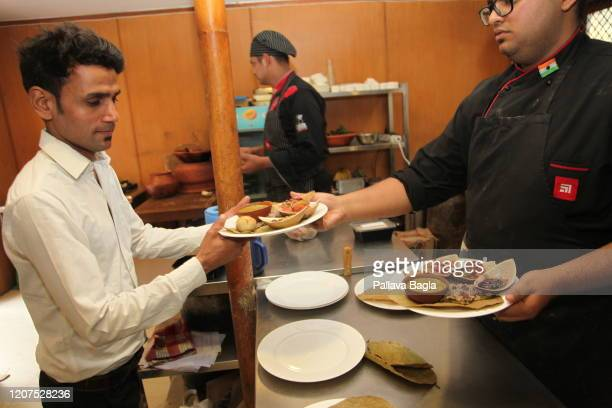 Food from The Indus Valley Civilisation is offered on February 20 2020 in New Delhi India What did humans eat 5000 years ago in one of the earliest...