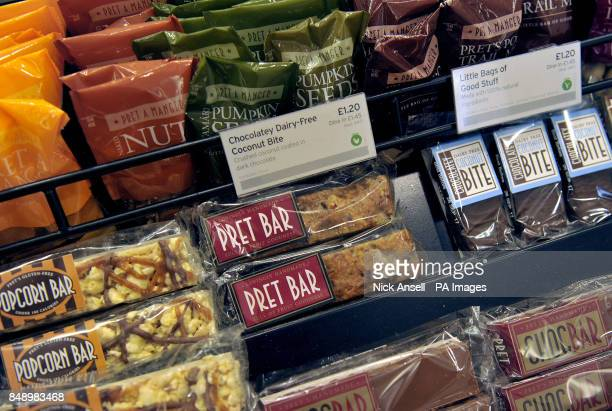 Food goods in a Pret A Manger store in Melcombe Street in central London Filipino fast food group Jollibee Foods Corp is reportedly eyeing a...