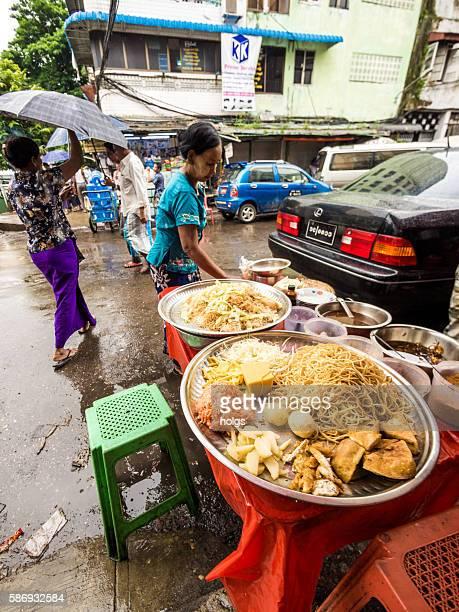 Food in Yangon, Myanmar
