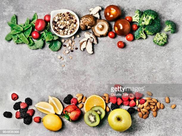 food ingredients - nut food stock photos and pictures