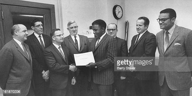 DEC 21 1969 Food Inspectors Receive Performance Awards Dr Joseph A Jones fifth from left officer in charge of inspection Agriculture Department...